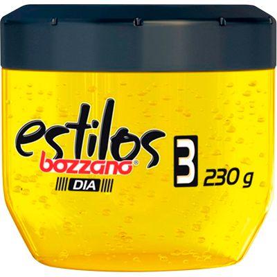 BOZZANO GEL FIXADOR CONDICIONANTE ESTILOS 3 EXTRA FORTE DIA 230g