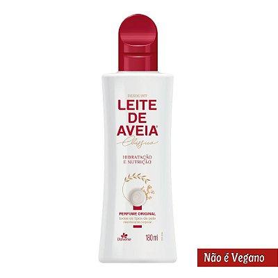 DAVENE LEITE DE AVEIA PERFUME ORIGINAL HIDRATAÇÃO E NUTRIÇ. 180mL