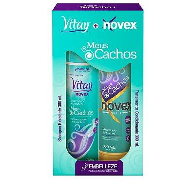 VITAY+NOVEX KIT MEUS CACHOS SHAMPOO + CONDICIONADOR 300mL