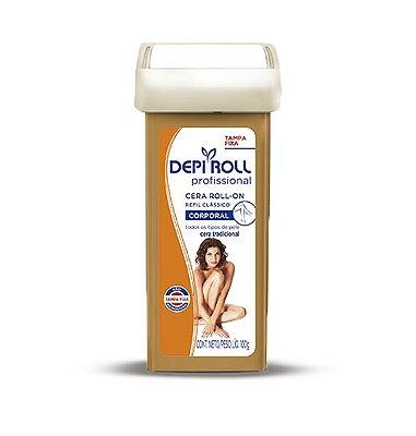 DEPI ROLL CERA ROLL-ON REFIL TRADICIONAL PROFISSIONAL CORPORAL 100g