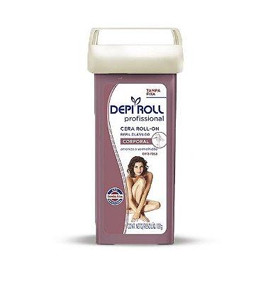 DEPI ROLL CERA ROLL-ON REFIL ROSA PROFISSIONAL CORPORAL 100g