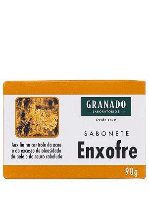 GRANADO SABONETE EM BARRA ENXOFRE 90g