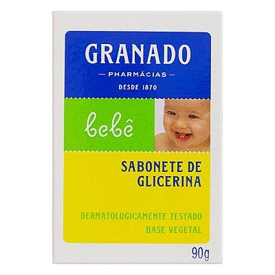 GRANADO SABONETE EM BARRA BEBÊ GLICERINA 90g