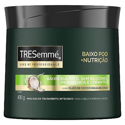 TRESEMME MASCARA DE TRATAMENTO BAIXO POO + NUTRIÇÃO 400g