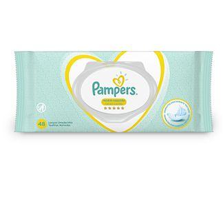 PAMPERS LENÇOS UMEDECIDOS RECÉM-NASCIDO 48un