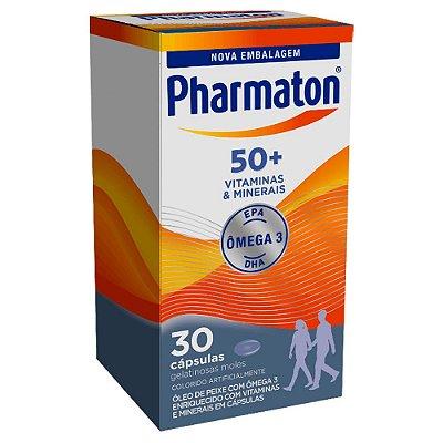 PHARMATON 50+ VITAMINAS E MINERAIS 30 CÁPSULAS