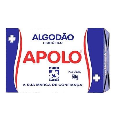 APOLO ALGODÃO HIDRÓFILO 50g