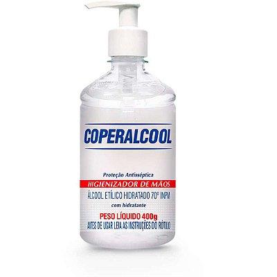 COPERALCOOL ÁLCOOL EM GEL 70º ETÍLICO HIDRATADO ANTISSÉPTICO 400g