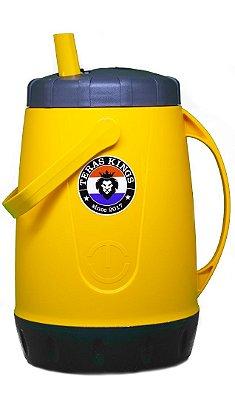 Garrafa Térmica Amarela - 2,5 Litros
