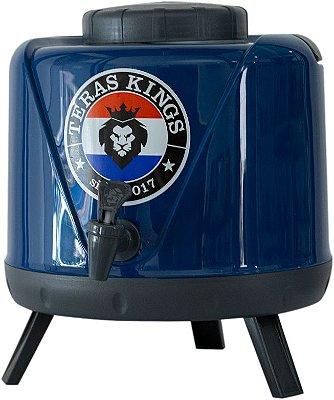 Botijão Térmico Azul - 5 Litros
