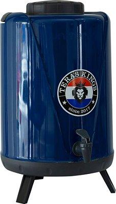 Botijão Térmico Azul - 10 Litros