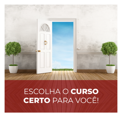 ESCOLHA O CURSO