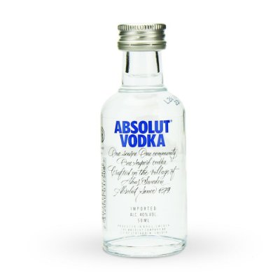 Mini Vodka Absolut Natural 50ml