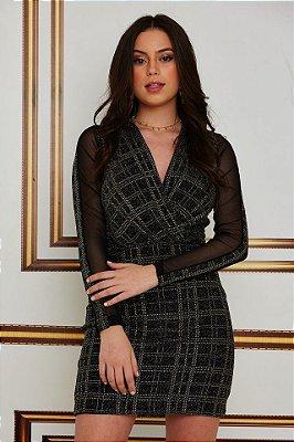 Vestido Cachecouer Xadrez
