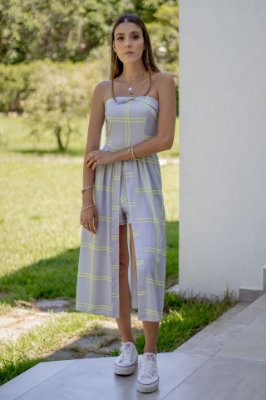 Vestido Letícia Xadrez