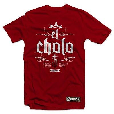 Camiseta El Cholo | La Coroa | Vermelho