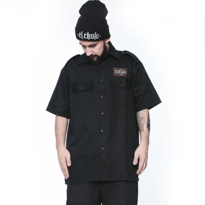 Camisa La Coroa work shirt | Preta