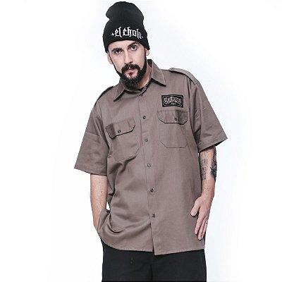 Camisa La Coroa work shirt | Bege