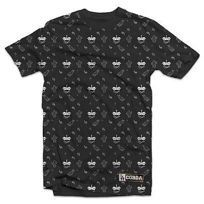 Camiseta full print| La Coroa  | Cinza