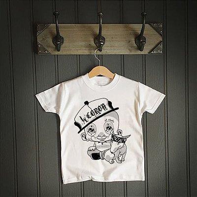 Camiseta Infantil El Nino | La Coroa | Branca