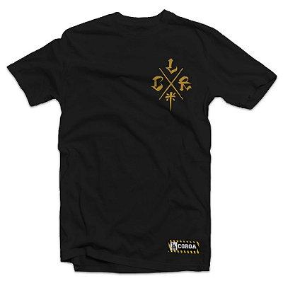 Camiseta  LCR Cruz| La Coroa  | Preta