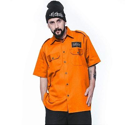 Camisa La Coroa work shirt | Laranja