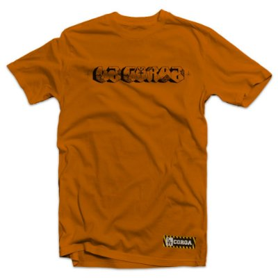 Camiseta  Pixo| La Coroa  | Laranja