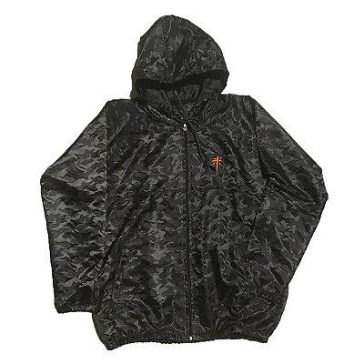 Jaqueta Corta Vento| Preto Camo | La Coroa