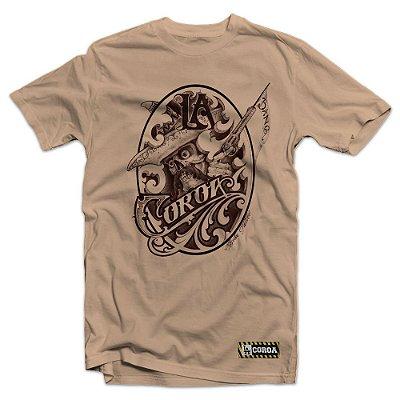 Camiseta Mariachi x Bola Tattoo | La Coroa  | Bege
