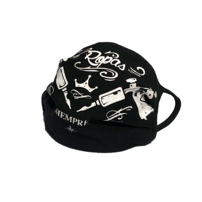 Máscaras Tatto Machine pack 2 unidades | La Coroa