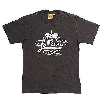 Camiseta Logo | La Coroa  | Chumbo