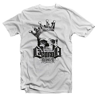 Camiseta Até a Morte | La Coroa | Branca