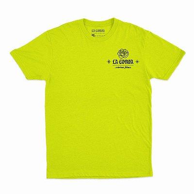 Camiseta Varias Fitas | La Coroa  |Amarelo Fluor