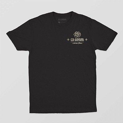 Camiseta Várias Fitas | La Coroa | Preta