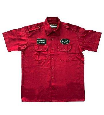Camisa Work Shirt | La Coroa  | Vermelha
