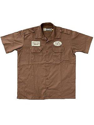 Camisa Work Shirt | La Coroa  | Marrom