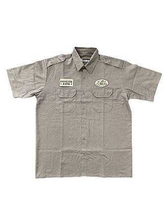 Camisa Work Shirt | La Coroa  | Cinza
