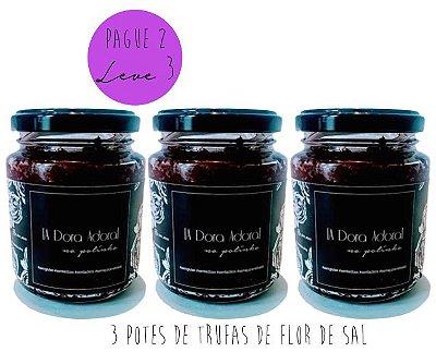 KIT 3 SABORES PELO PREÇO DE 2 --- 3x TRUFADO FLOR DE SAL
