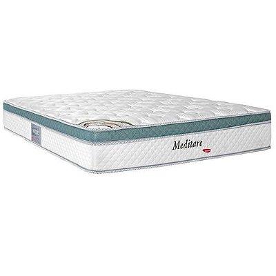 Colchão Viúva Herval Molas Pocket Meditare 128x188x29
