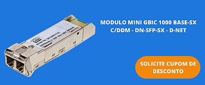 MODULO MINI GBIC 1000 BASE-SX C/DDM - DN-SFP-SX - D-NET