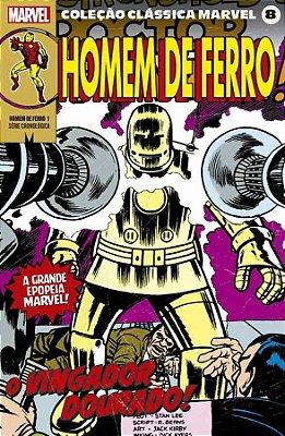 Coleção Clássica Marvel Vol. 8 - Homem de Ferro Vol. 1