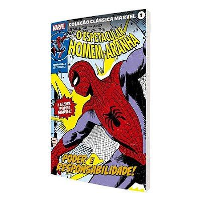 Coleção Clássica Marvel Vol.01 - Homem-Aranha Vol.01