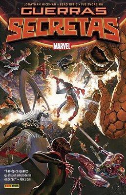 Guerras Secretas Nova Marvel Deluxe