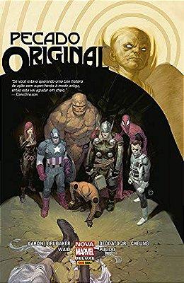 Pecado Original Nova Marvel Deluxe
