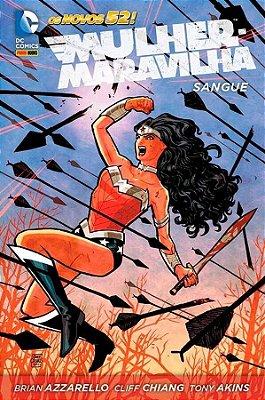 Mulher-Maravilha: Sangue Novos 52! Vol. 01