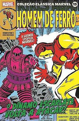 Coleção Clássica Marvel Vol. 13 - Homem de Ferro Vol. 2