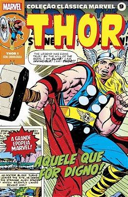 Coleção Clássica Marvel Vol. 9 - Thor Vol. 1