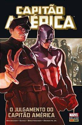 Capitão América: O julgamento do Capitão América Marvel Deluxe