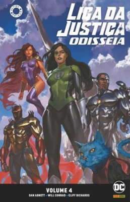 Liga da Justiça: Odisseia Vol. 04