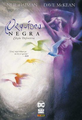 Orquídea Negra de Neil Gaiman e Dave McKean